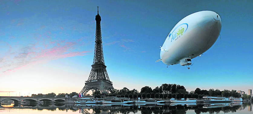 ballon dirigeable ile de france